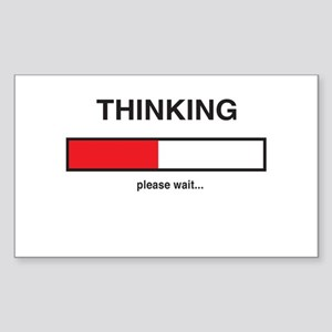 Thinking please wait... Sticker